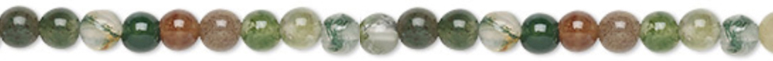 4mm Round Fancy Jasper Supreme Nurturer - Tranquility - Wholeness - rotection - Grounding Chakras - All Chakras