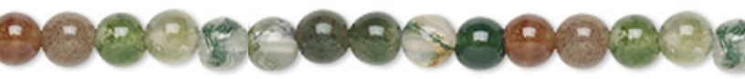 6mm Round Fancy Jasper Supreme Nurturer - Tranquility - Wholeness - rotection - Grounding Chakras - All Chakras