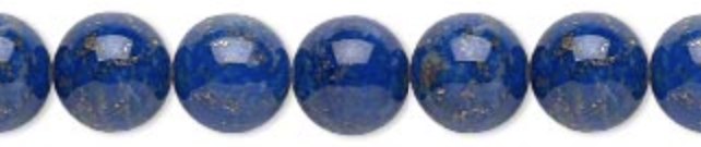 12mm Lapis Lazuli meaning - Enlightenment - Physic Abilities - Power - Serenity - Reverse Curses - Chakras - Opens Third Eye & Balances Throat