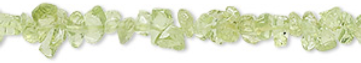 3-5mm Peridot Chip Beads Meaning - Protective, Cleansing, Focus, Spiritual, Purpose - Chakras - Heart & Solar Plexes