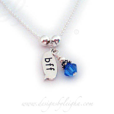 BFF Birthstone Charm Necklaces - DBL-N-BFF