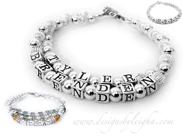 BRENDEN & TYLER 2 string bracelet-DBL-SS1-2string bracelet with a Twisted Toggle Clasp