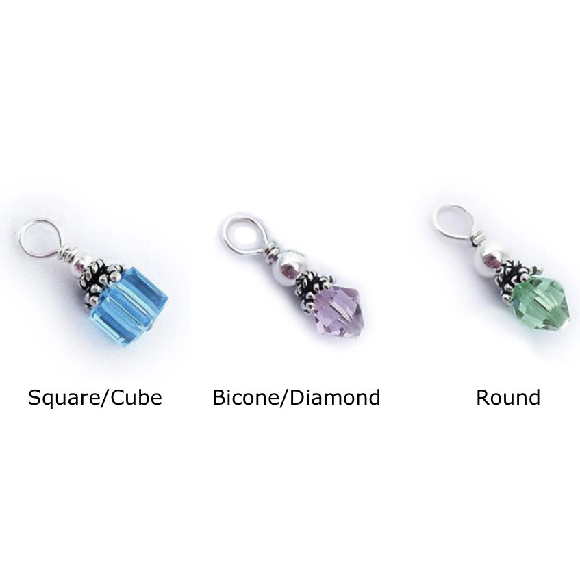 Charms and Spacers for Charm Necklace