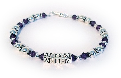 Mom Birthstone Bracelet