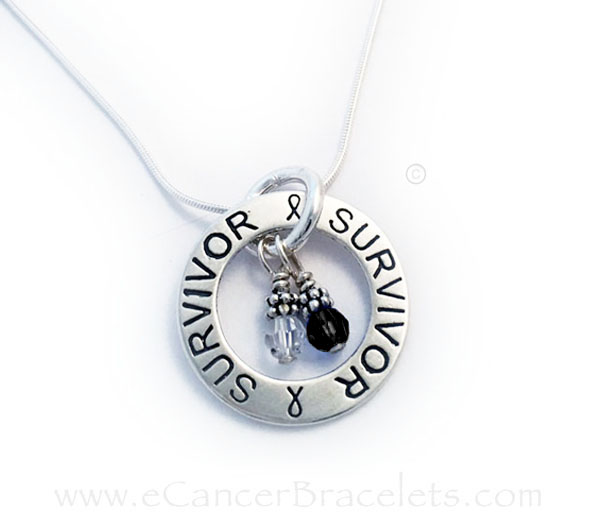 Melanoma Survivor Necklace