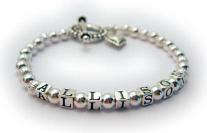 3 Name Mother Bracelet - Personalized Name Bracelet