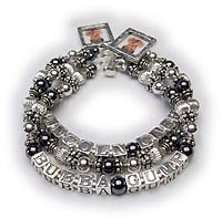 3 name Mother Hematite Bracelet