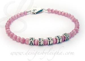 Cat's Eye Mothers Bracelet with ALLIE
