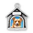 Dog Picture Frame Charm