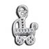 Tiny Baby Carriage Charms