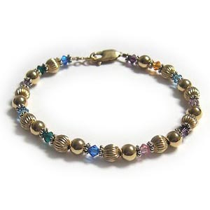 GMA8 Teacher Gift Bracelet #3 with birthstones