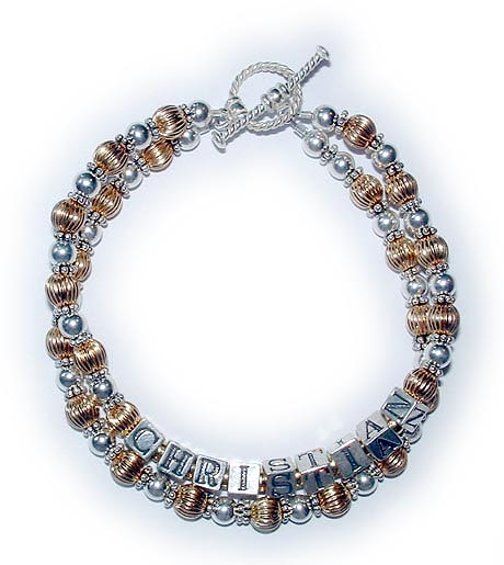 DBL-G4-2 string bracelet with Christian.