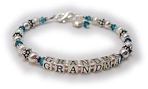 Crystal Grandma Bracelet