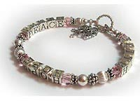 FAITH HOPE PEACE Bracelet