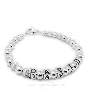 1-string name bracelet DBL-SS1-1string
