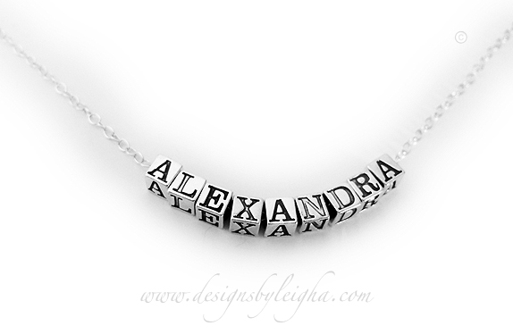 Alexandra Name Necklace