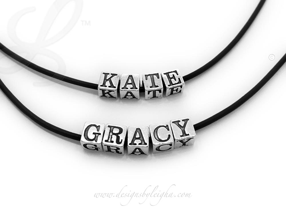 Kate Leather Necklace & Gracy Leather Necklace