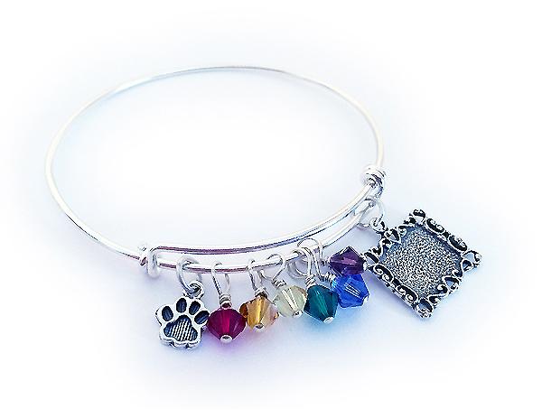 Rainbow Bridge Bangle Bracelet Dblra5