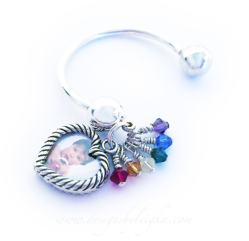Rainbow Bridge Key Chain