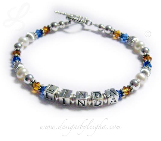 School Colors Bracelet (Pride and Spirit)