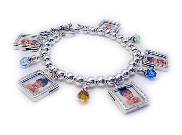 Charm Bracelets for Mommy and Grandma