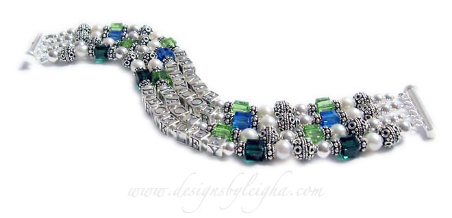 DBL-SS6-4	String Bracelet Order: HANNAH/Aug TAYLOR/Sep MACY/Aug Beckley/May Shown with a slide clasp.