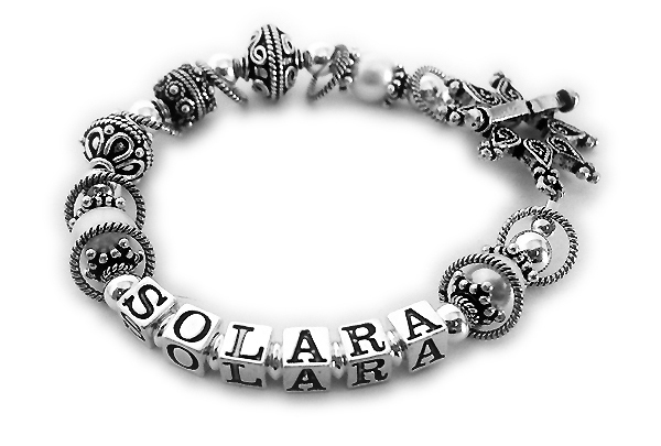 DBL-SS3	String Bracelet Enter SOLARA/no crystals. They upgraded to the Star toggle clasp.