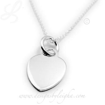 Valentines Day Heart Charm Necklace for under $50!!!