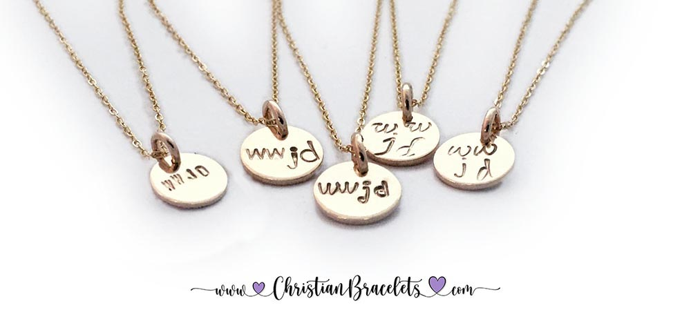 WWJD Gold Charms